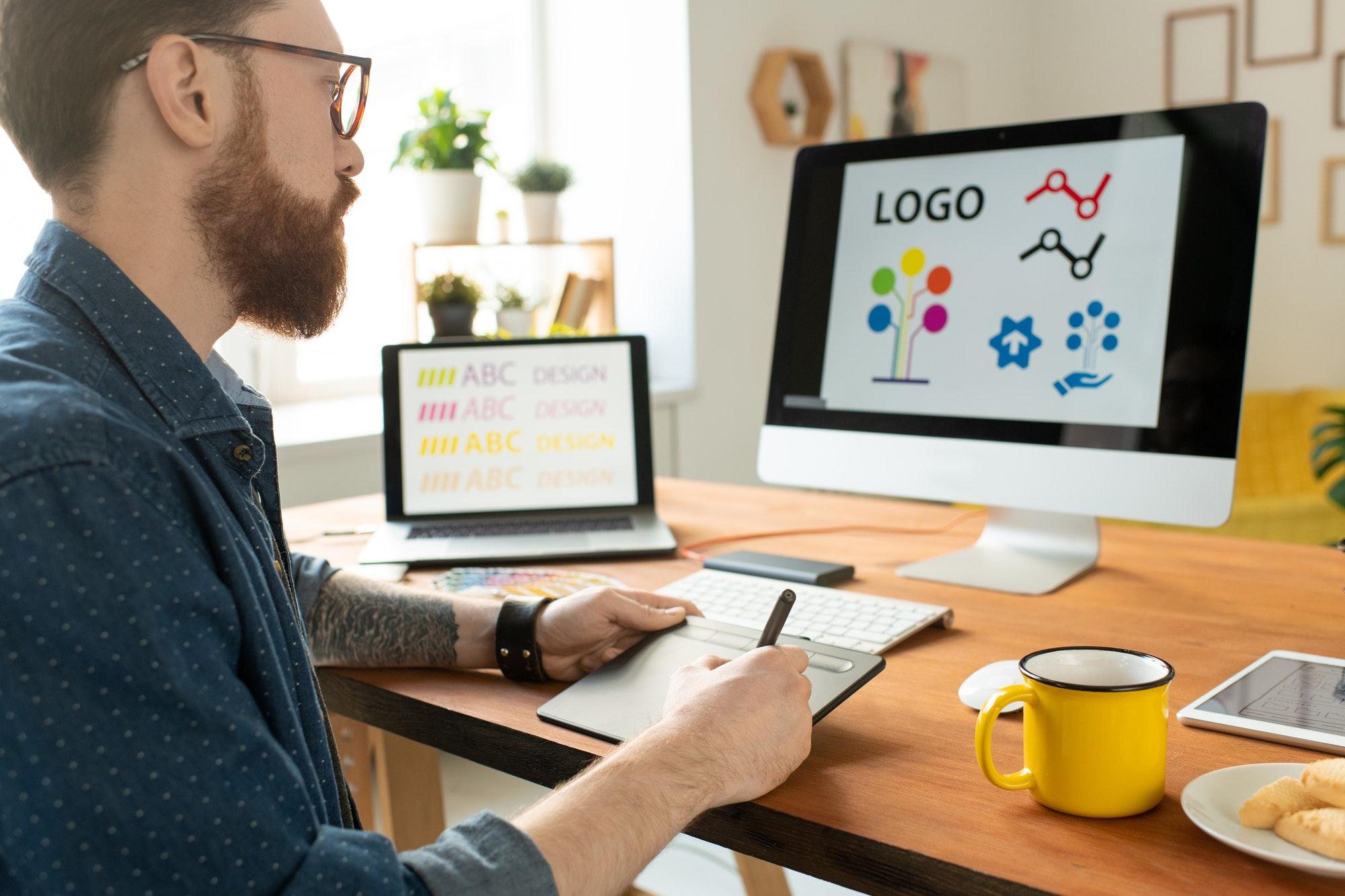Kako si lahko samostojno izdelamo logotip?